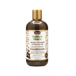 AFRICAN PRIDE MOISTURE  MIRACLE -  CONDITIONER 12 OZ