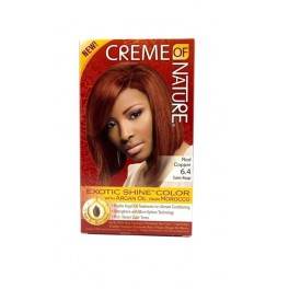 75724232723 - CREME OF NATURE GEL HAIR COLOR 6.4 RED COPPER