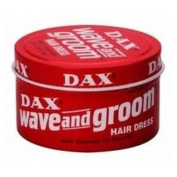 DAX - POMMADE WAVE GROOVE HAIR DRESS (RED) 3.5oz